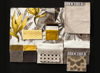 BROCHIER - Home decor textiles - Design Inspiration 526 Tortora