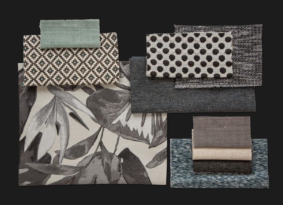 BROCHIER - Interior Design Fabrics - Design Inspiration 528 Argento