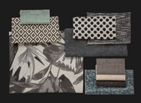 BROCHIER - Home decor textiles - Design Inspiration 528 Argento