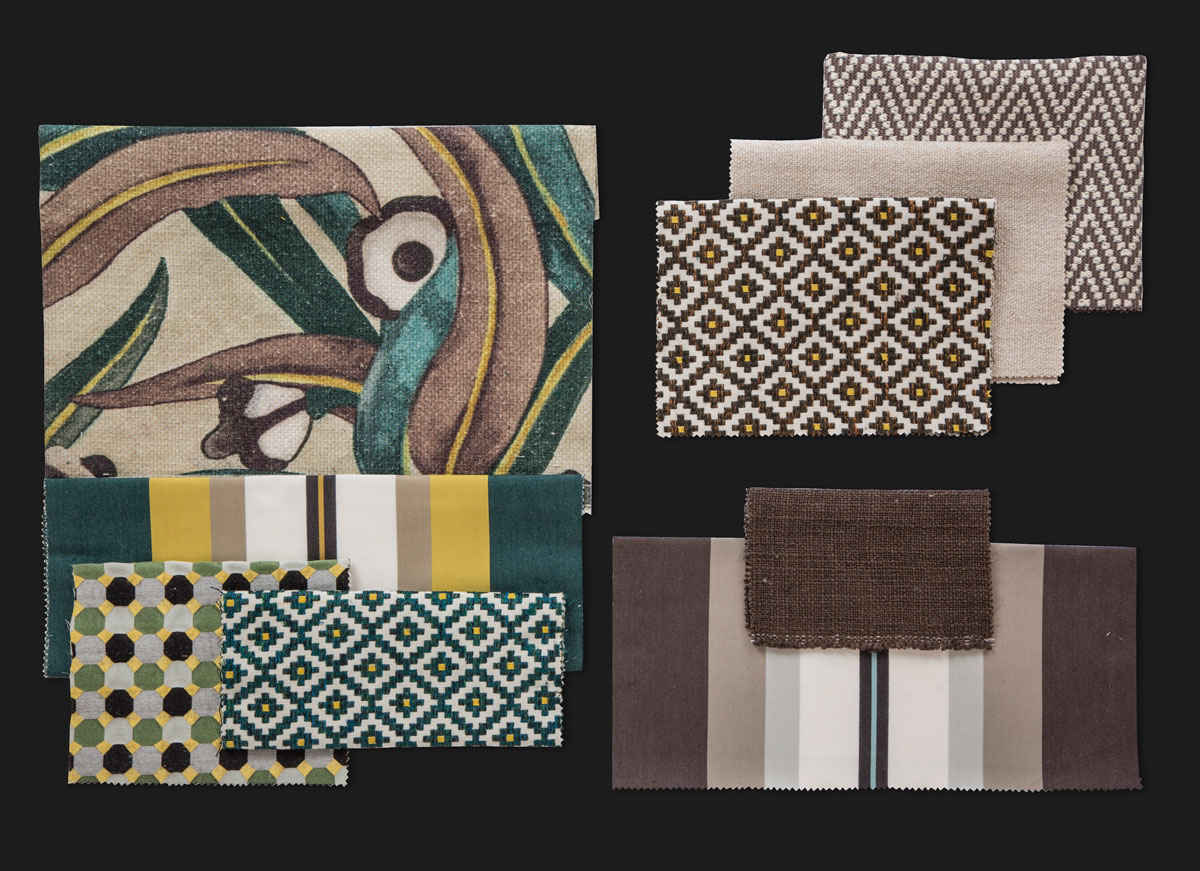 BROCHIER - Interior Design Fabrics - Design Inspiration 529 Bosco