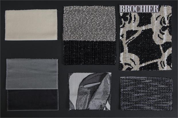 BROCHIER - Interior Design Fabrics - Design Inspiration 531 Argento
