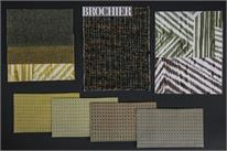 BROCHIER - Home decor textiles - Design Inspiration 532 Verde Giallo