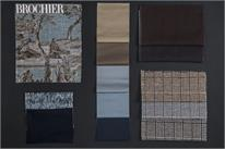 BROCHIER - Home decor textiles - Design Inspiration 533 Azzurro Beige
