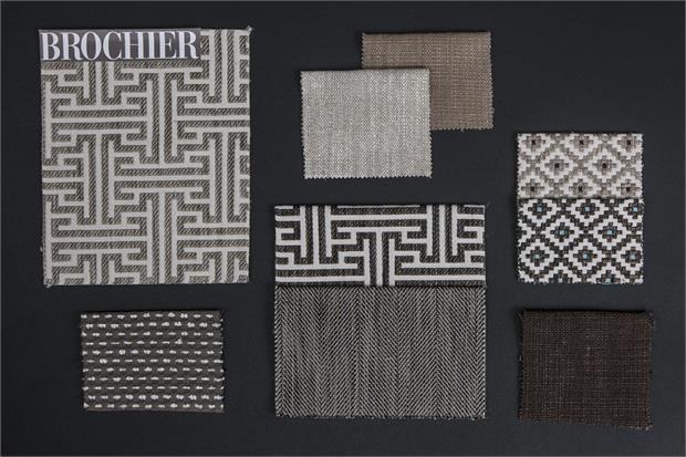 BROCHIER - Interior Design Fabrics - Design Inspiration 534 Beige Marrone