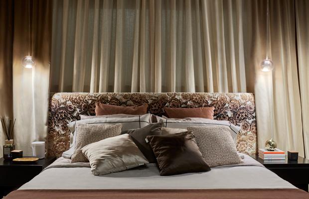 BROCHIER Interior design Fabrics - Home decor textiles - ROOF VIEW 4.0. An interior design project by Andrea Castrignano