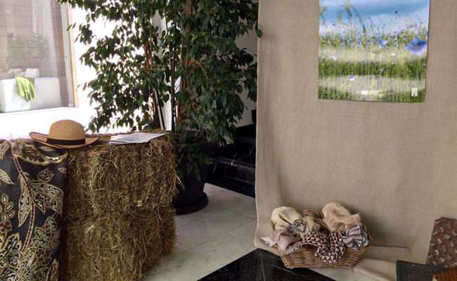 BROCHIER Interior design Fabrics - Home decor textiles - AMO IL LINO Campaign