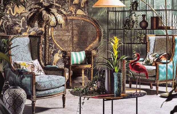... design Fabrics - Home decor textiles - Home decor trends: exotica