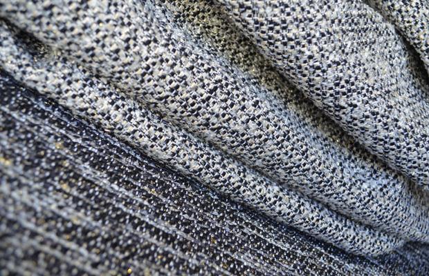 arredare in bianco e nero con i tessuti brochier - Tessuti Per Arredamento