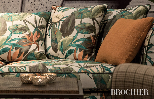 BROCHIER Interior design Fabrics - Home decor textiles - Shades of autumn