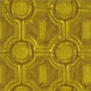 BROCHIER Home decor textile - Interior Design Fabric A01195 JULIE 001 Ocra