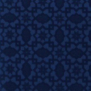 BROCHIER Home decor textile - Interior Design Fabric AC115 PEGASO 004 Blu cina