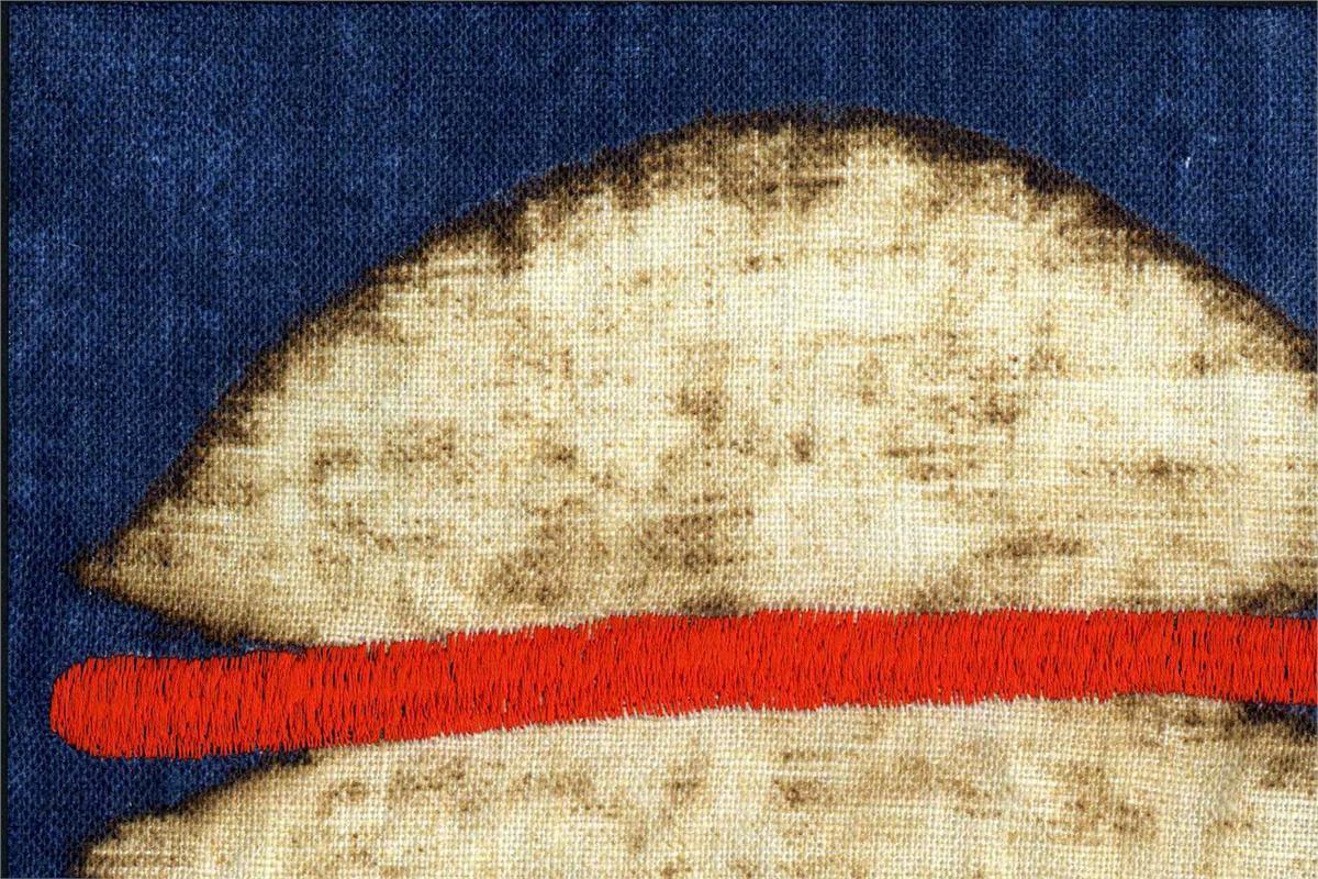 BROCHIER Home decor textile - Interior Design Fabric AK0742 AGRA 002 Cobalto