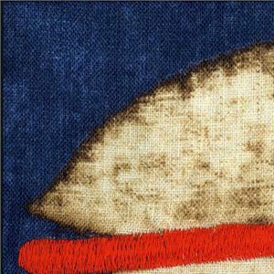 AK0742 AGRA 002 Cobalto home decoration fabric