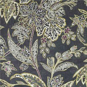 BROCHIER - Interior Design Fabric AK0751 CHINSAI 002 Ebano