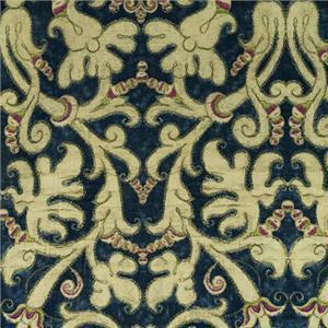 BROCHIER - Interior Design Fabric AK0797 PEDROLINO 004 Cobalto