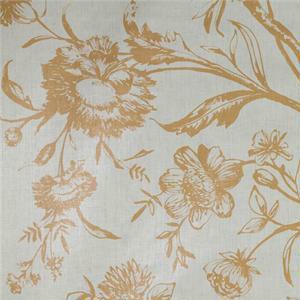 BROCHIER - Interior Design Fabric AK0810 MIRANDOLINA 003 Ecru-cammello