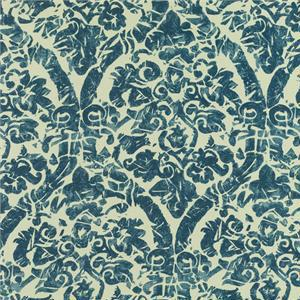 BROCHIER - Interior Design Fabric AK0978 EDERA 003 Blu