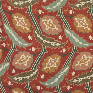 BROCHIER - Interior Design Fabric - Home Textile AK1044 ISOTTA 004 Corallo