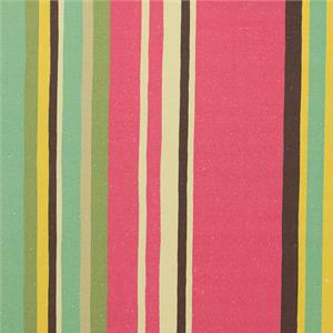 BROCHIER - Interior Design Fabric AK1049 RIGONA 001 Oro-fuxia