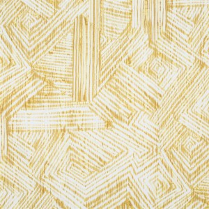 BROCHIER - Interior Design Fabric AK1303 MOIRE 004 Limone