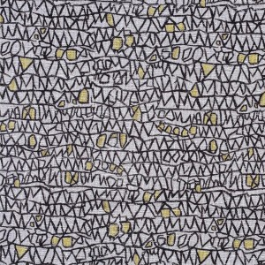 BROCHIER Home decor textile - Interior Design Fabric AK1401 ASTRATTO 003 Oro