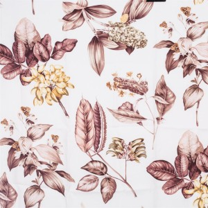 BROCHIER Home decor textile - Interior Design Fabric AK1403 BOTANICO 003 Cipria