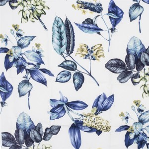 BROCHIER - Interior Design Fabric - Home Textile AK1403 BOTANICO 005 Oceano