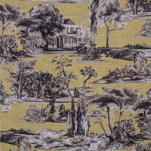 BROCHIER Home decor textile - Interior Design Fabric AK1428 CAMPAGNA 003 Oro