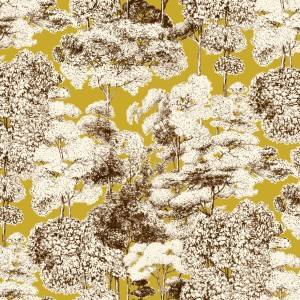 AK1510 FORESTA 005 Oro home decoration fabric