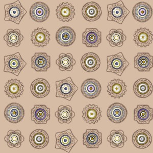 BROCHIER - Interior Design Fabric - Home Textile AK1518 FER FORGÉ 002 Beige