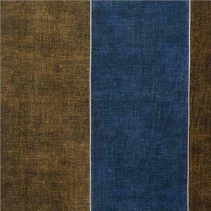 BROCHIER - Interior Design Fabric AKA744 ASINARA 004 Aloe-blu-cina