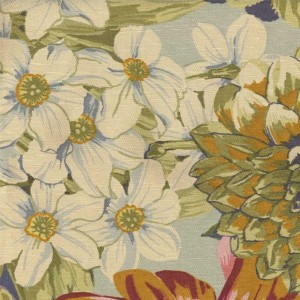 BROCHIER - Interior Design Fabric - Home Textile D.2153 NARCISO 003 Acqua