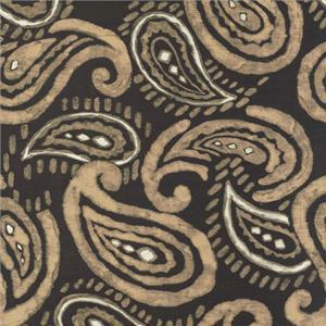 BROCHIER - Interior Design Fabric - Home Textile J1258 PERSIA 001 Ebano