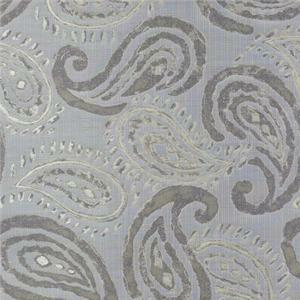 BROCHIER - Interior Design Fabric J1258 PERSIA 003 Argento
