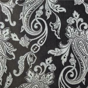 BROCHIER - Interior Design Fabric J1267 SIAM 001 Ebano