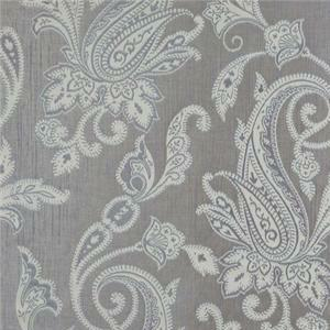 BROCHIER - Interior Design Fabric J1267 SIAM 007 Argento