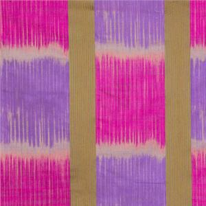 BROCHIER - Interior Design Fabric - Home Textile J1269 MADRAS 002 Fuxia-violetto
