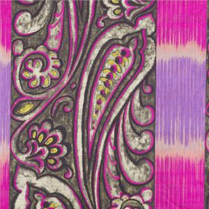 BROCHIER - Interior Design Fabric - Home Textile J1271 DELHI 002 Fuxia-violetto