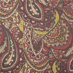BROCHIER - Interior Design Fabric - Home Textile J1275 BISANZIO 003 Corniola-rame