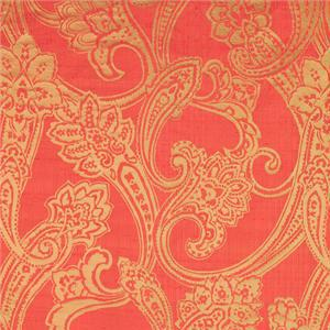 J1276 PECHINO 006 Corallo home decoration fabric