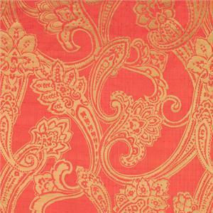 BROCHIER - Interior Design Fabric J1276 PECHINO 006 Corallo