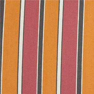BROCHIER - Interior Design Fabric J1612 BRIGHELLA 003 Ambra-corallo
