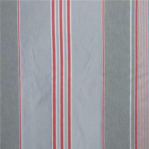 BROCHIER - Interior Design Fabric J1625 BERTOLINO 001 Argent-corallo