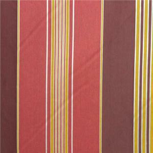 BROCHIER - Interior Design Fabric J1625 BERTOLINO 006 Granata-oro