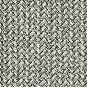 BROCHIER - Interior Design Fabric J1951 SECONDIGLIANO 004 Argento-ferro