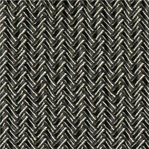 BROCHIER - Interior Design Fabric J1951 SECONDIGLIANO 011 Argento ch.
