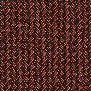 BROCHIER - Interior Design Fabric J1951 SECONDIGLIANO 015 Arancio