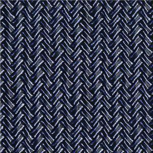 BROCHIER - Interior Design Fabric J1951 SECONDIGLIANO 023 Indaco