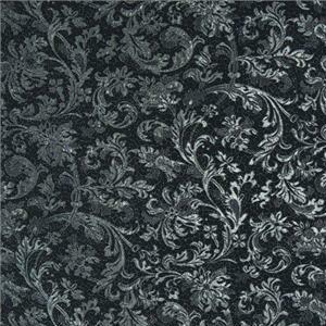 J1964 LE VALLETTE 004 Nero home decoration fabric