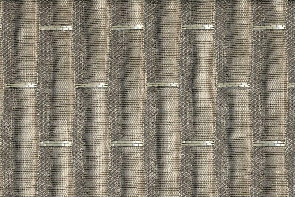 BROCHIER Home decor textile - Interior Design Fabric J2256 BRUCE 009 Grigio ch.